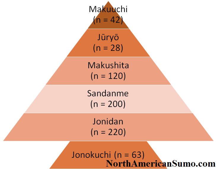 Japanese Sumo Divisions - Correct