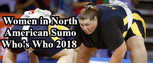 Women in North American Sumo - Whos Who 2018