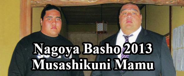 Nagoya Basho 2013 Musashikuni Mamu Header