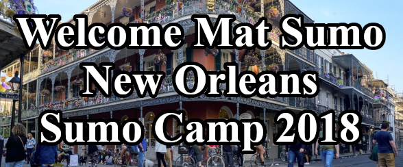 Welcome Mat Sumo New Orleans Sumo Camp 2018