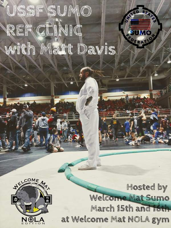 USSF Sumo Ref Clinic with Matt Davis - Match 15th and 16th
