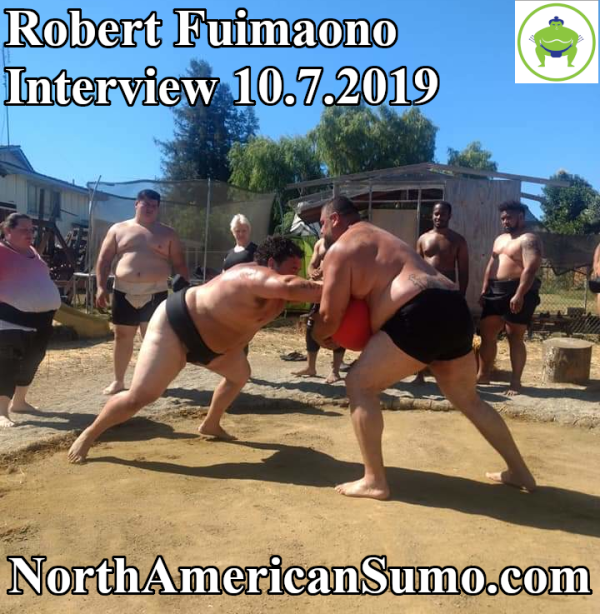Robert Fuimaono Sumo Interview Image